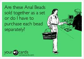 anal beads funny